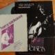 Bladmuziek en LP met daarop Meta Sequoia van Harry Sacksioni