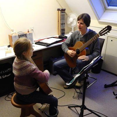 gitaarles van robert beemsterboer
